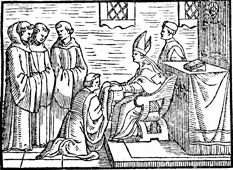 The Blessing of an Abbot