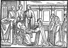The Blessing of an Abbess