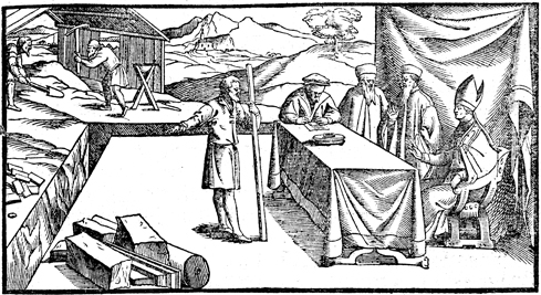 The Blessing and Placing of the First Stone of a New Church Building