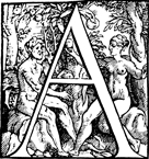 Initial Letter A