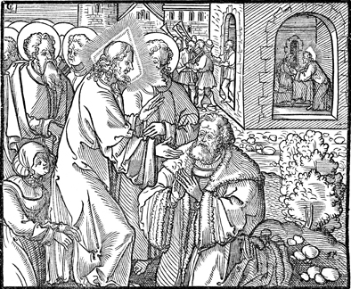 Jairus and the Woman with the Issue of Blood