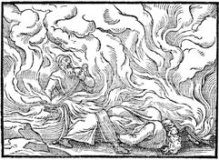Fiery Death for Nadab and Abihu