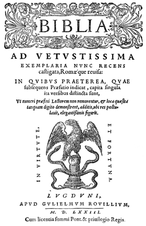 Historiated Title-Page Border