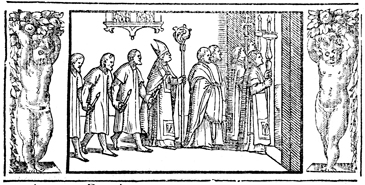 The Public Expulsion of Penitents from the Church on Ash Wednesday