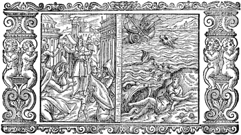 Jonah and the Large Fish and Nineveh Repents