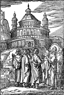Jesus and the Temple Building