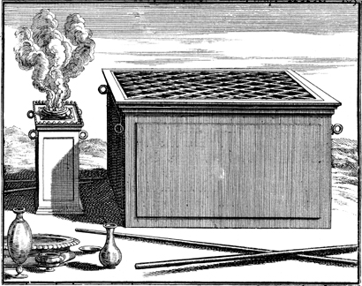 Altar of Burnt Offering and the Altar of Incense