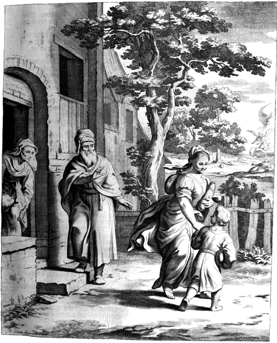 Hagar and Ishmael Sent Away