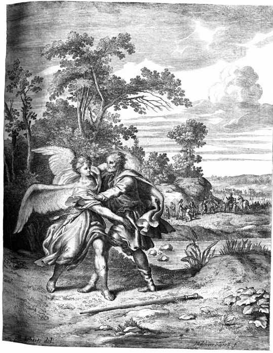 Jacob Wrestles with God and Is Reconciled to Esau
