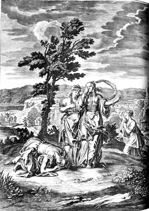 Scenes of Jephthah and his Daughter