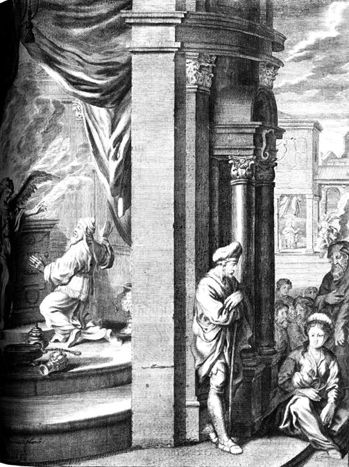 Zechariah and Angel, and the Annunciation