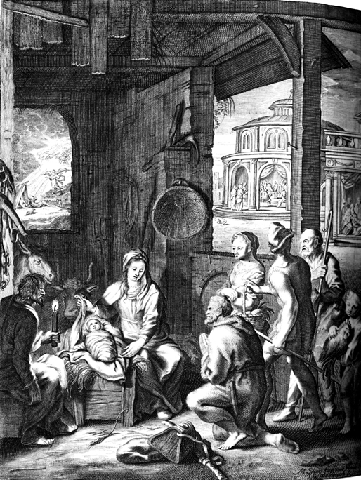 Nativity, Shepherds, Circumcision and the Boy Jesus in the Temple
