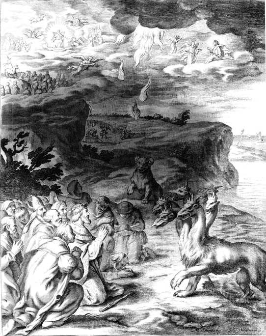 Beasts of Earth and Sea, Lamb and Angels, and Harvest