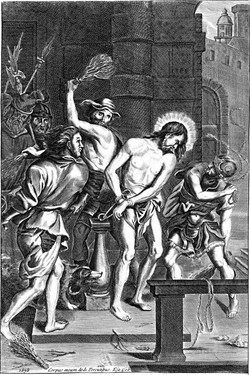 Jesus Is Flogged Pitts Digital Image Archive Emory