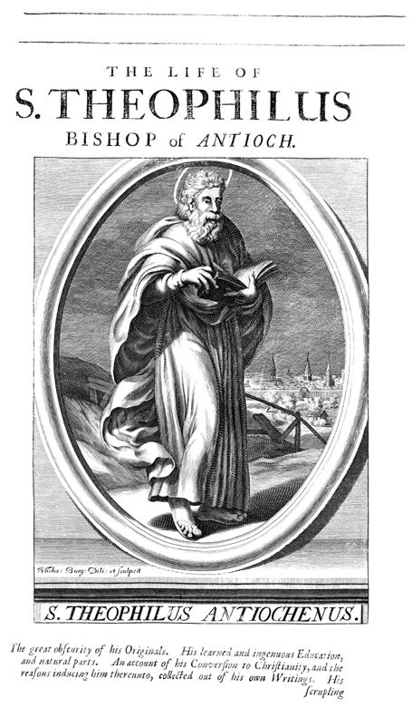 St. Theophilus, Bishop of Antioch