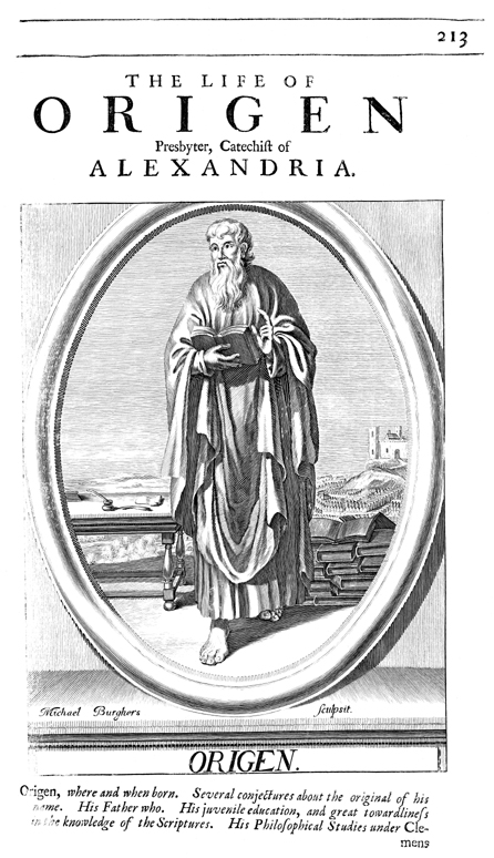 Origen, Presbyter and Catechist of Alexandria