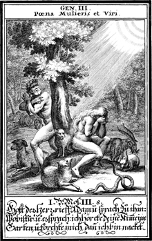 God Confronts Adam and Eve