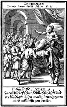 Jacob Blesses His Sons