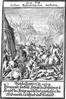 Gideon Defeats the Midianites
