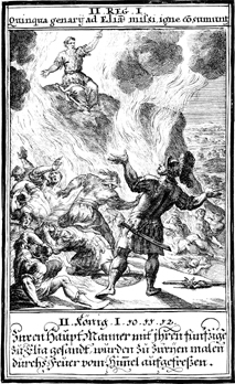 Elijah Calls Down Fire from Heaven