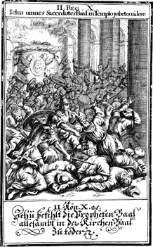 The Slaughter of the Priests of Baal