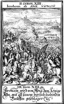 War Between Jeroboam and Abijah