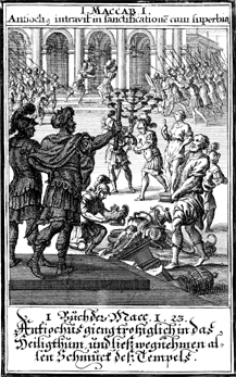 Antiochus Loots the Temple