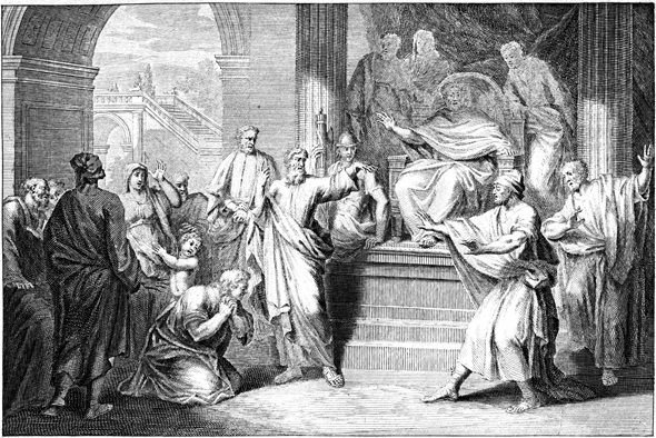 Barnabus and Saul at Cyprus