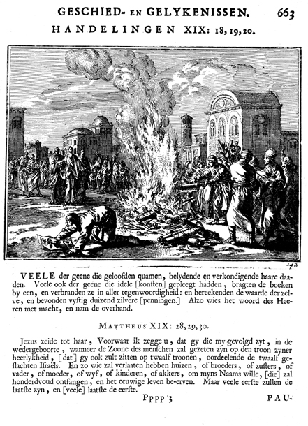 The Converted Ephesians Burned Their Books