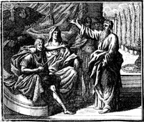 Paul Preaches to Felix and Drusilla
