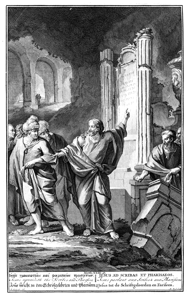 Jesus Condemns the Scribes and Pharisees