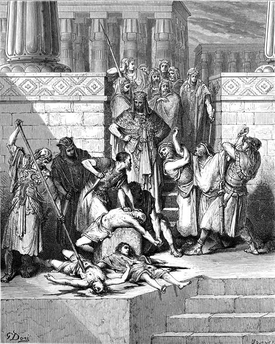 Slaughter of the Sons of Zedekiah Before Their Father