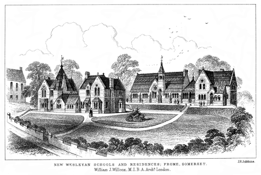 New Wesleyan Schools and Residences, Frome, Somerset