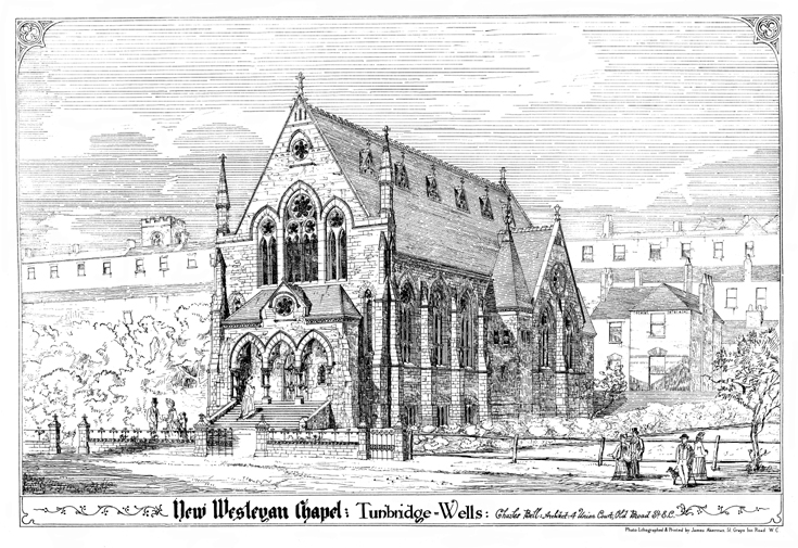 New Wesleyan Chapel, Tunbridge, Wells