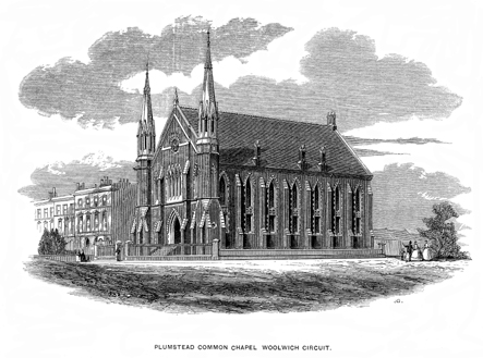 Plumstead Common Chapel, Woolwich Circuit