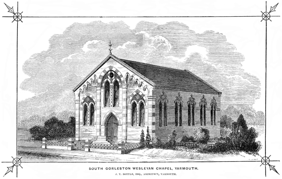 South Gorleston Wesleyan Chapel, Yarmouth