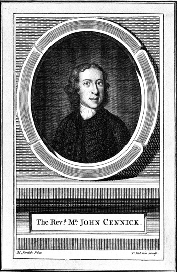 Portrait of John Cennick