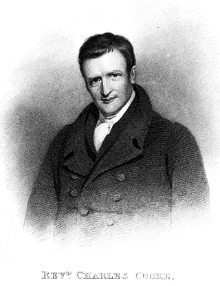 Portrait of Charles Cooke