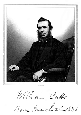 Portrait of William Cutts