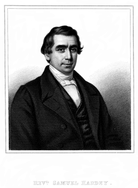 Portrait of Samuel Hardey