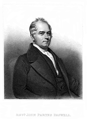 Portrait of John Partes Haswell