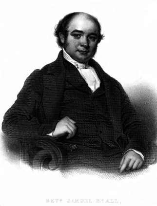 Portrait of Samuel McAll