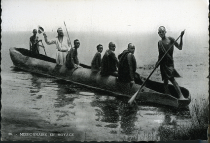 Missionaire en Voyage (A Missionary Setting out on a Voyage)