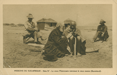 Le Vieux Missionnaire Instruisant (An Old Missionary Instructing)