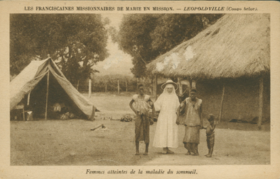 Femmes Atteintes de la Maladie du Sommeil (Women Suffering from Sleeping Sickness)