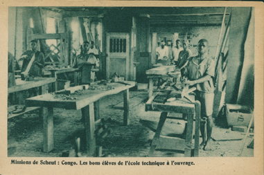 Les Bons Eleves de l'Ecole Technique (The Good Students of the Technical School)
