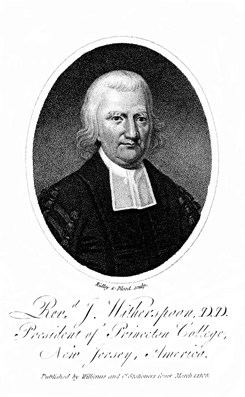 Portrait of  J. Witherspoon